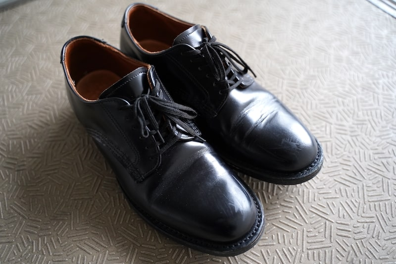 Redwing Mil-1 Blucher Oxfordのエイジング:全体¥