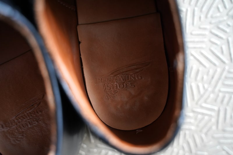 Mil-1 Blucher Oxfordのエイジング:インソール